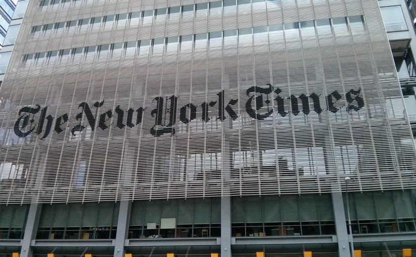 NYタイムズ紙、香港スタッフの一部をソウルに 国安法で懸念